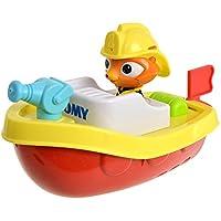 """TOMY Wasserspielzeug """"Ferngesteuertes Feuerwehrboot"""" mehrfarbig - hochwertiges Kinderspielzeug - Spielzeug Boot ferngesteuert für großen Badespaß für Kinder - ab 12 Monate"""