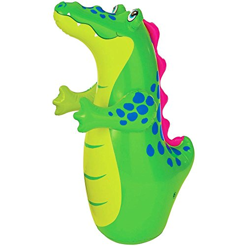 ADITYA INFOTM Crocodile Face Hit-Me Bop Bag For Kids