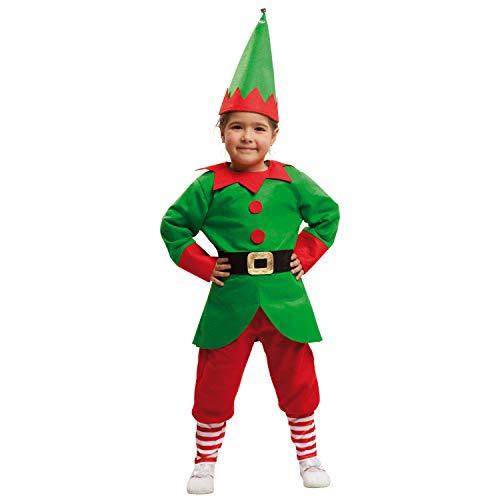 My Other Me Me-203463 Disfraz de elfo para niño 10-12 años Viving Costumes 203463