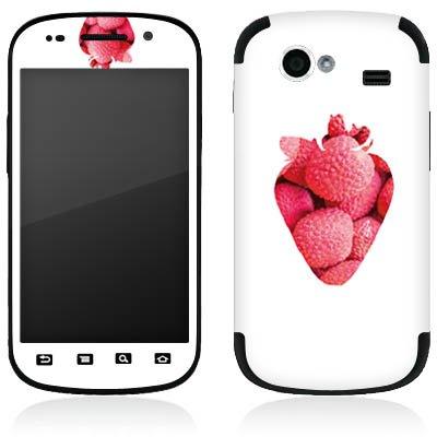 DeinDesign Google Nexus S I9023 Folie Skin Sticker aus Vinyl-Folie Aufkleber Erdbeere Frucht Muster