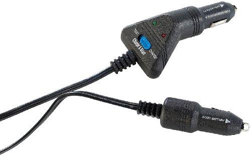 Lescars Starthilfe: Kfz-Starter-Kit für den Zigarettenanzünder, 4m-Kabel (Starthilfekabel für den Zigarettenanzünder)