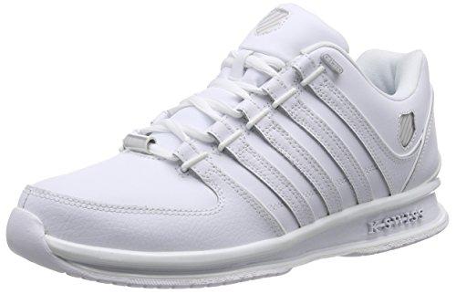 K-Swiss RINZLER SP 02283-M Herren Sneaker Weiß (White/White 912)