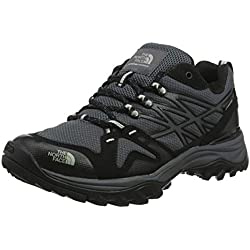 The North Face M HEDGEHOG FASTPACK GTX (EU), Chaussures de trekking et randonnée homme - Noir - Schwarz (C4V-TNF BLACK/HIGH RISE GREY), 43