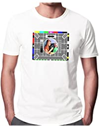 Next Weeks Washing BBC Test Card Men's Fashion Quality Heavyweight T-Shirt.