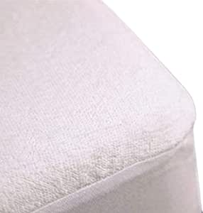Trance Home Linen Trance 200 GSM++ Terry Fabric Waterproof King Size Mattress Protectors(White, 78x72-inch)