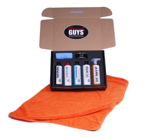 Chemical Guys Mega Gloss & Shine Kit Lackpflege Set plus Zubehör