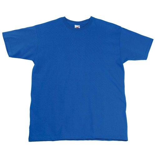 Fruit of the Loom Super Premium T-Shirt Blau - Königsblau