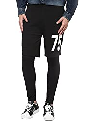 Jack & Jones Mens Casual Trouser (5712419442955_Black_34W X 34L)