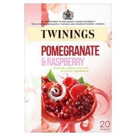 Twinings Pomegranate & Raspberry 4 x 20 tea bags