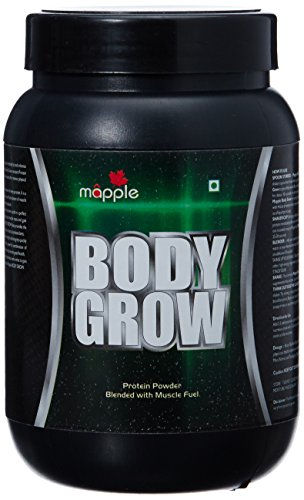 GRF Ayurveda Body Grow Whey Protein Supplement - 300 g (Vanilla)  available at amazon for Rs.308