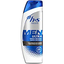 Head & Shoulders Men Ultra Limpieza Profunda Champú Anticaspa ...