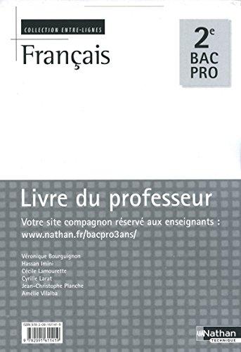 Français 2e Bac Pro