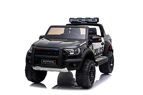 RIRICAR Voiture électrique pour Enfants Ford Raptor, Jantes EVA, Suspension de Haute qualité,...