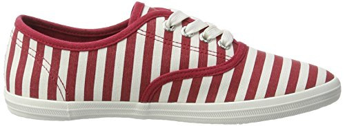 Tom Tailor - 2792402, Pantofole Donna rosso (rosso)