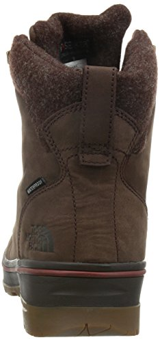The North Face M Ballard Duck Boot, Bottes de protection homme Marrón / Rojo