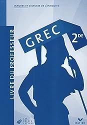 Grec 2e : Livre du professeur