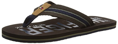 tommy-hilfiger-b2285anks-11d-chanclas-hombre-multicolor-coffeebean-midnight-dusty-oli-212-41