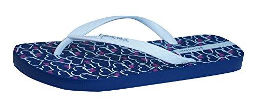 Ipanema Temas Frauen Flip Flops / Sandalen Blau / Weiß