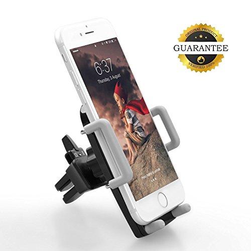 Quntis® Universal KFZ Handy Halterung Autohalterung Lüftungsschlitz für iPhone 7, 7 Plus, 6, 6 Plus, SE, 5, 5s, 5c, 4, 4s, Android Samsung Galaxy S5, S4 und andere Smartphones