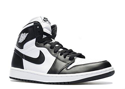 Nike Herren Air Jordan 1 Retro High OG Turnschuhe, Weiß, 7.5UK/ 26.5cm