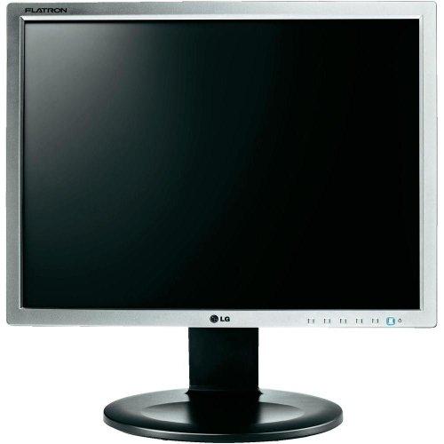 LG E1910PM-SN 48,30cm (19 Zoll) LED-Monitor ( DVI-D, VGA/D-Sub, PC Audio Ein, 5ms Reaktionszeit) silber