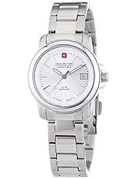 Swiss Military Hanowa 06-7230.04.001 - Reloj de pulsera mujer, acero inoxidable, color plateado