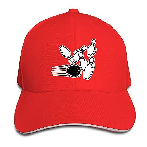 WBinHua Hüte caps Bowling Strike Adult Adjustable Snapback Hats Sandwich Cap Unisex (Bruno Mars Hat)