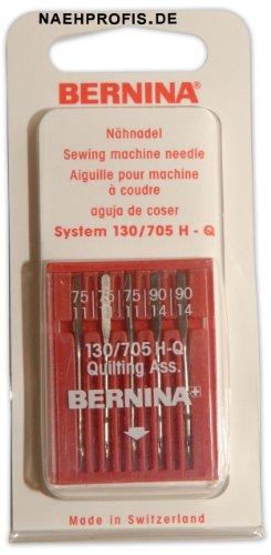 BERNINA Quilt-Nadeln, Stärken 75-90, zum Steppen & Quilten