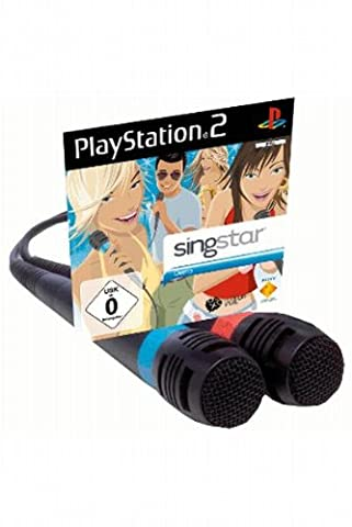 Singstar Starter Pack - 2 Mikrofone Sony + Singstar Demo Disc (in neutraler Verpackung)