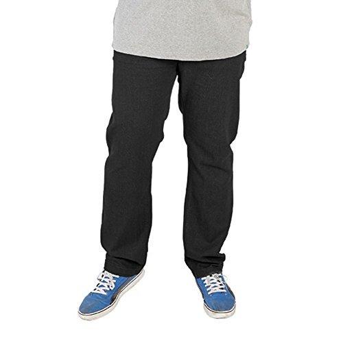 Rockford Jeans - Herren Jeanshose Baumwolle Reich Bequeme Passform - Schwarz, W42 L34 (Baumwolle-jeans Reichen)
