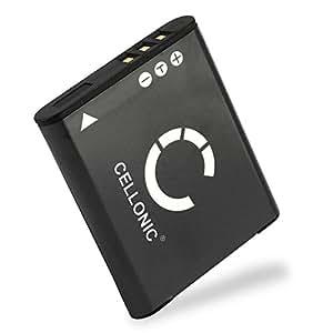 CELLONIC® Batterie premium pour Panasonic HX-WA30 HX-WA3, Panasonic HX-WA20 HX-WA2 (770mAh) VW-VBX090 Batterie de rechange, Accu remplacement