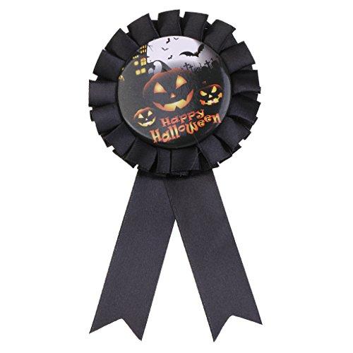 SM SunniMix Halloween Rosette Abzeichen Badge Anstecker für Alle