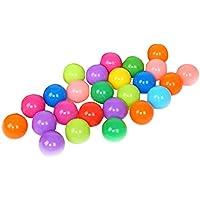 Matefield 25pcs Bolas para Piscina respetuosos del Medio Ambiente Colorido Ola del océano Bolas Suaves Piscina