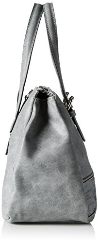 GERRY WEBER - Wish Ii Handbag Mhz, Borsa a mano Donna Grau (Grau (light grey))