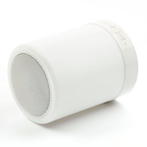 Rosa Mini Bluetooth Lautsprecher für Aldi Medion LifeTab LifeTab P10606 / P8524 / E10411 / X10311 (MD 60654) / P10603 / X10313 / P10327 / E10511 (MD 60637) / X10605 (MD 60656) / P10602 Tablet-PCs