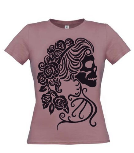 Pretty Attitude -  T-shirt - Collo a U  - Donna lilla Small