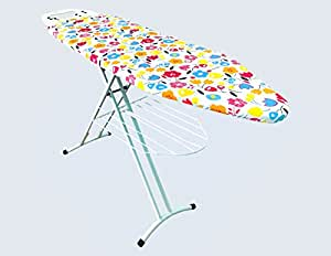 Synergy Extra Large Ironing Board (Folding) with Iron Holder, Clothes Rack and Stepless Height Adjustment (SY-PT3)