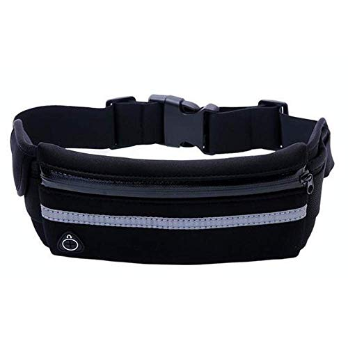Adjustable Running Belt for Huawei Ascend P8 Mini P7 P2 P1 G620S G600 G520  Waist Pack Zip with Headphone Hole Phone Bag for Huawei Ascend Y600 Y550