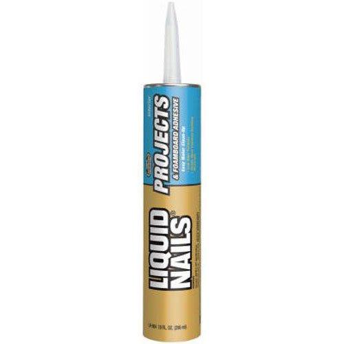 PPG ARCH FIN/LIQUID NAILS - 10-oz. Foamboard Adhesive