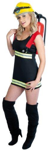 Firegirl Kostüm - Sexy Feuerwehrmann - Adult Kostüm