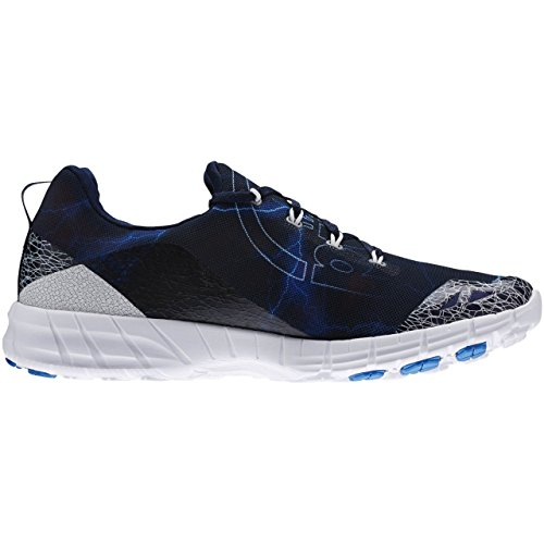 Reebok–Scarpe da corsa da uomo - collegiate navy/blue sport/running white