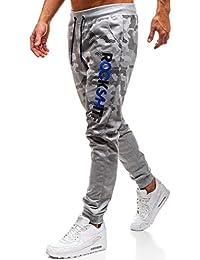 BOLF Pantaloni – Da tuta – Patch - Stile casual – Da uomo 6F6