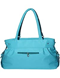Paras Fashions Stylish Green Firozi Color Synthetic Leather Shoulder Bag For Girls/Handbag For Women