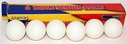 Table Tennis Balls 6pk (D75105c)