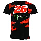 Maverick Vinales 25 Moto GP Monster Energy Camouflage T-shirt Offiziell 2018