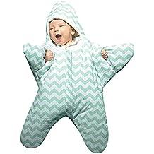 QinMM Saco de Dormir Infantil tiburón bebés bebés niñas 3D Envoltura para Dormir ...