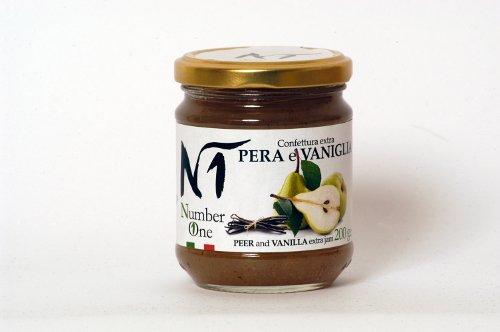Confettura extra pera e vaniglia - Vasetto 200 gr.