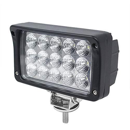 AUTOJARE LED Scheinwerfer 45W Flutlicht Rückfahrscheinwerfer IP67 Wasserdicht Arbeitsscheinwerfer 12V 24V (1pc) -