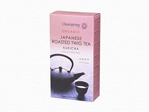 Clearspring Kukicha Twig Tea 40g 20 Bag
