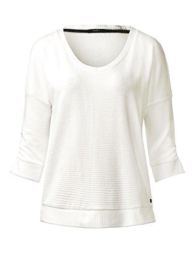 Cecil Damen Sweatshirt Weiß (Pure Off White 10125)